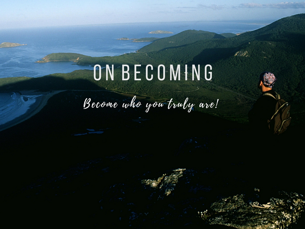 "Welcome to the ""On Becoming"" Blog"